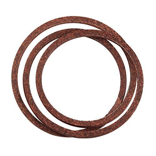 "Wellsking 754-0497 1/2""x 60"" Lawn Mower PTO Belt Replacement for MTD 754-0497 954-0497, JD M155343 M41961 M42261, Troy-Bilt 1717837"