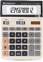 $38 » HJHJ Calculators Standard Function Electronics Calculator 12 Digit Large LCD Display Solar Desktop Office Finance Calculator