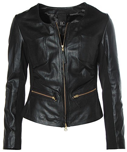 B.C. Best Connections Damen Lederjacke Schwarz 40