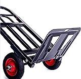 XHCP Chariot de Salon de beauté Chariot de Chariot à Domicile pour l'épicerie, Chariot de Camping pour Appartement avec Cordon élastique, Chariot Utilitaire Extensible Noir, 26 & Times;