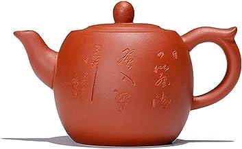 JIAZHOUMA Fioletowa glina czajniczek 260CC chiński kung fu ręcznie robiony Gao Yuan Zhu garnek Yixing Zisha czajnik