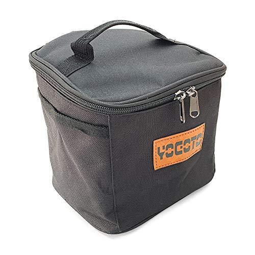 【YOGOTO】 スパイスボックス アウトドア キャンプ BBQ 調味料ケース 仕切付き