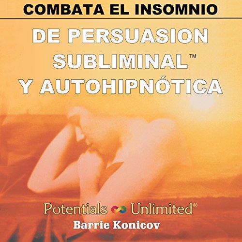 Combata El Insomnio [Insomnia] audiobook cover art
