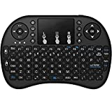 ZAMPEQ Mini Wireless Keyboard with Touchpad and Multimedia Keys for Android TV Box