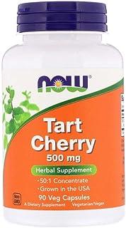 Now Foods Tart Cherry, 500mg,Veg Capsules, 90ct
