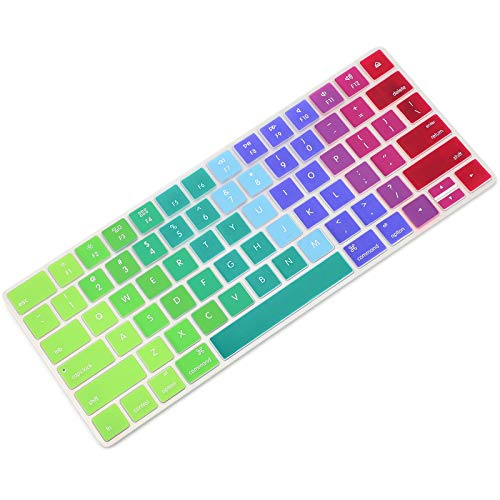 Allinside Rainbow Cover for Apple Magic Keyboard (MLA22LL/A) with US Layout