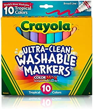 10-Count Crayola Ultra Clean Washable Markers