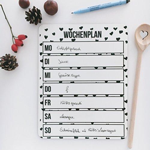 Wochenplaner / Menüplaner