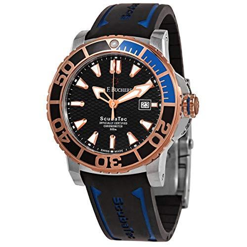 Carl F. Bucherer Patravi ScubaTec Rose Gold Steel Men's Watch Model 00.10632.24.33.01