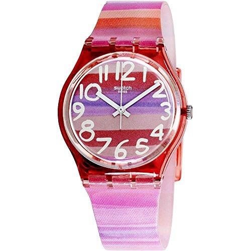 Swatch GP140 Montre à quartz analogique avec bracelet plastique(femme)