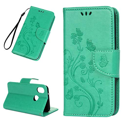 Vogu'SaNa - Funda para teléfono móvil BQ Aquaris C, diseño de Mariposas, Piel sintética