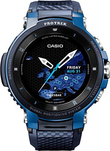 Casio Unisex Erwachsene Digital Uhr mit Harz Armband WSD-F30-BUCAE