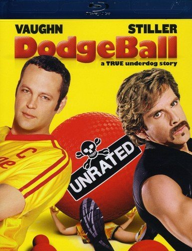 Dodgeball: All stores are sold Fashion A True Underdog Blu-ray Unrated Story
