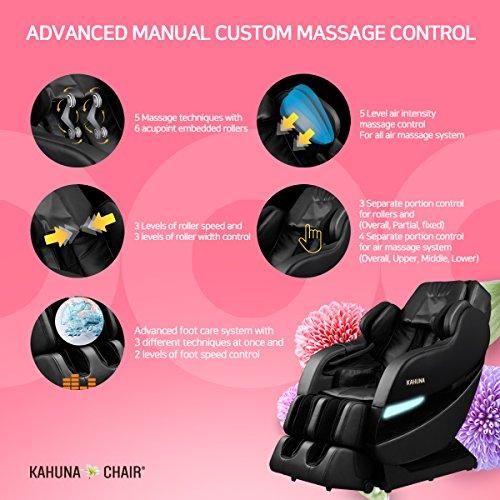Kahuna SM7300 Top Performance Massage Chair