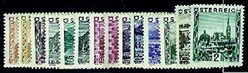 Goldhahn  erreich Nr. 498-511  Landschaften 1929  Briefürken für Sammler