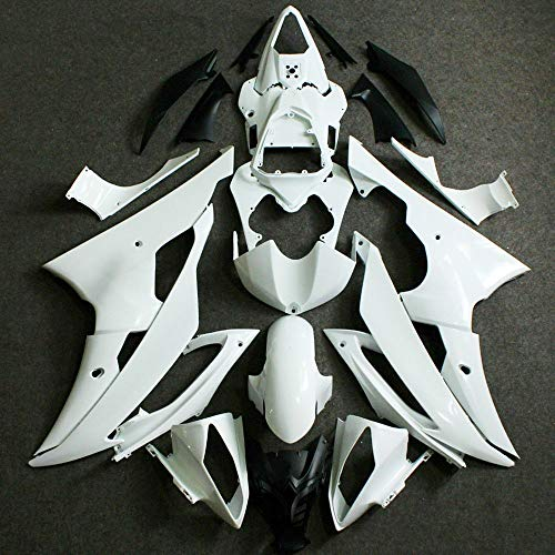 ZXMT Unpainted Motorcycle Fairing kit ABS Injection Fairings for Yamaha YZF R6 2008-2016 2009 2010 2011 2012 2013 2014 2015 (24 Pcs)