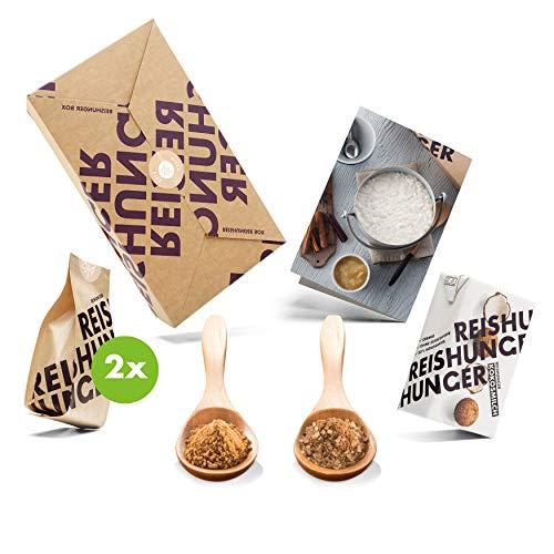 Reishunger Milchreis Box (4-teilig, 2–4 Personen) Original Zutaten bester Qualität für Milchreisgerichte – Perfekt auch als Geschenk