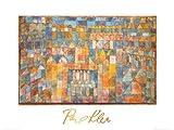 Paul Klee Poster/Kunstdruck Quartiere 80 x 60 cm