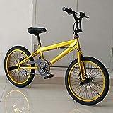 MIAOYO Bicicleta BMX de 20 Pulgadas, Bicicleta de fantasía de fantasía de acto, Estilo Libre para Principiantes para Jinetes avanzados, Bicicletas BMX de la Calle,b