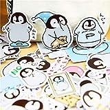 TDCQ Creative Cute Animal Selbstgemachte Pinguin Scrapbooking Aufkleber/dekorative Aufkleber/DIY...