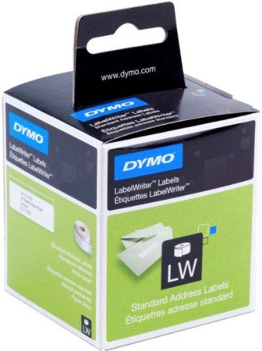 99013, Dymo Etiketten Transparent 89 x 36 mm, Folie, 260 Stück, 89x36, S0722410