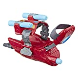 Marvel Avengers Iron Man Repulsor-Blaster Handschuh mit 3 Nerf Darts für Rollenspiele, Für Kinder...