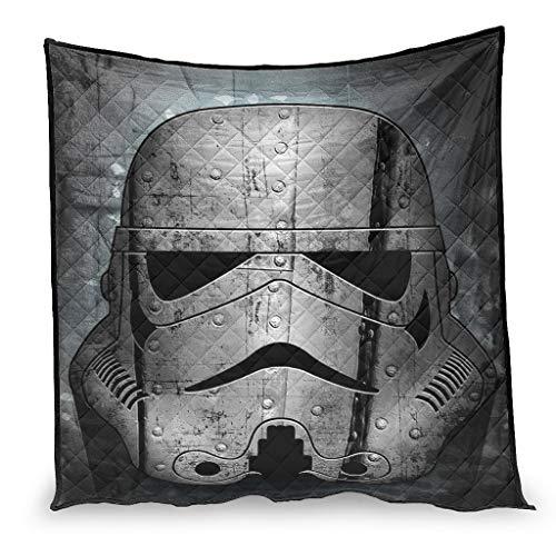 YshChemiy Stormtroopers Star Wars - Colcha de algodón para sofá, antibolitas, mantas de cama para hombres y mujeres, color blanco 150 x 200 cm