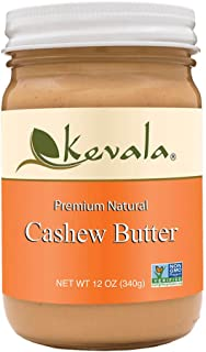 Kevala Cashew Butter, 12 Ounce