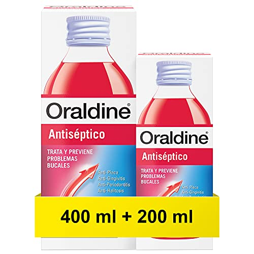 Oraldine Colutorio Antiséptico, 400...