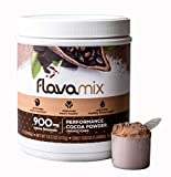 FlavaMix Performance Cocoa | 900mg of Cocoa Flavanols | Promotes Brain & Heart Function | Plant Based, Zero Sugar, Dairy Free | 31 Day Supply