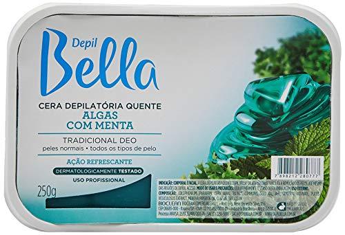 Cera Depilátoria Algas com Menta 250g, Depil Bella