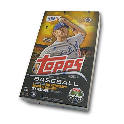 Topps 2014 Series 2 Baseball Hobby Box MLB