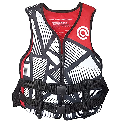 Haihui Chaqueta de natación para niños y adultos, bañador flotante de neopreno, chaleco de flotación, chaleco de flotación, para niños y niñas, 60 kg