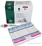 1000 Stück Schutzhüllen für Fieberthermometer