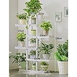 NA Muebles para el hogar Estante para flores de madera Soporte para plantas de...