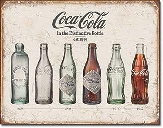 New Coca Cola Coke Bottle Evolution 16