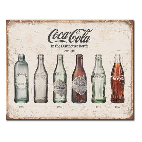 DRINK COKE SIGN COKE VINTAGE SIGN MAN CAVES KITCHEN ETC