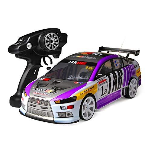 RC Car,MUZoo Grande quattro ruote motrici 01:10 Squisito telecomando Drift Model Car, 40 km / h fuori strada auto ad alta velocità che corre, Wireless Charging professionista RC Racing, Genitore-Bambi