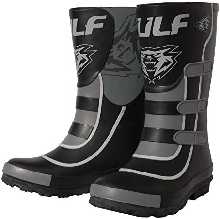 EU 22 // UK Infant 5, Pink Wulfsport Mud Stomper Junior Wellington Boots
