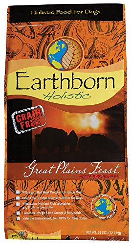 Earthborn Holistic Great Plains Feast Grain Free Dry Dog Food, 28 Lb.