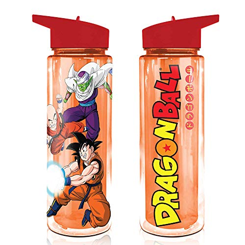 Dragon Ball Super Water Bottle, 17 oz Hydro Tumbler Flask, Stay Hydrated Bottle Plastic Jug (Officially Licensed), by Just Funky