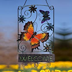 Butterfly Garden Welcome Sign