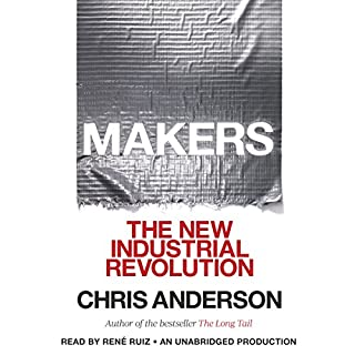Makers audiobook cover art