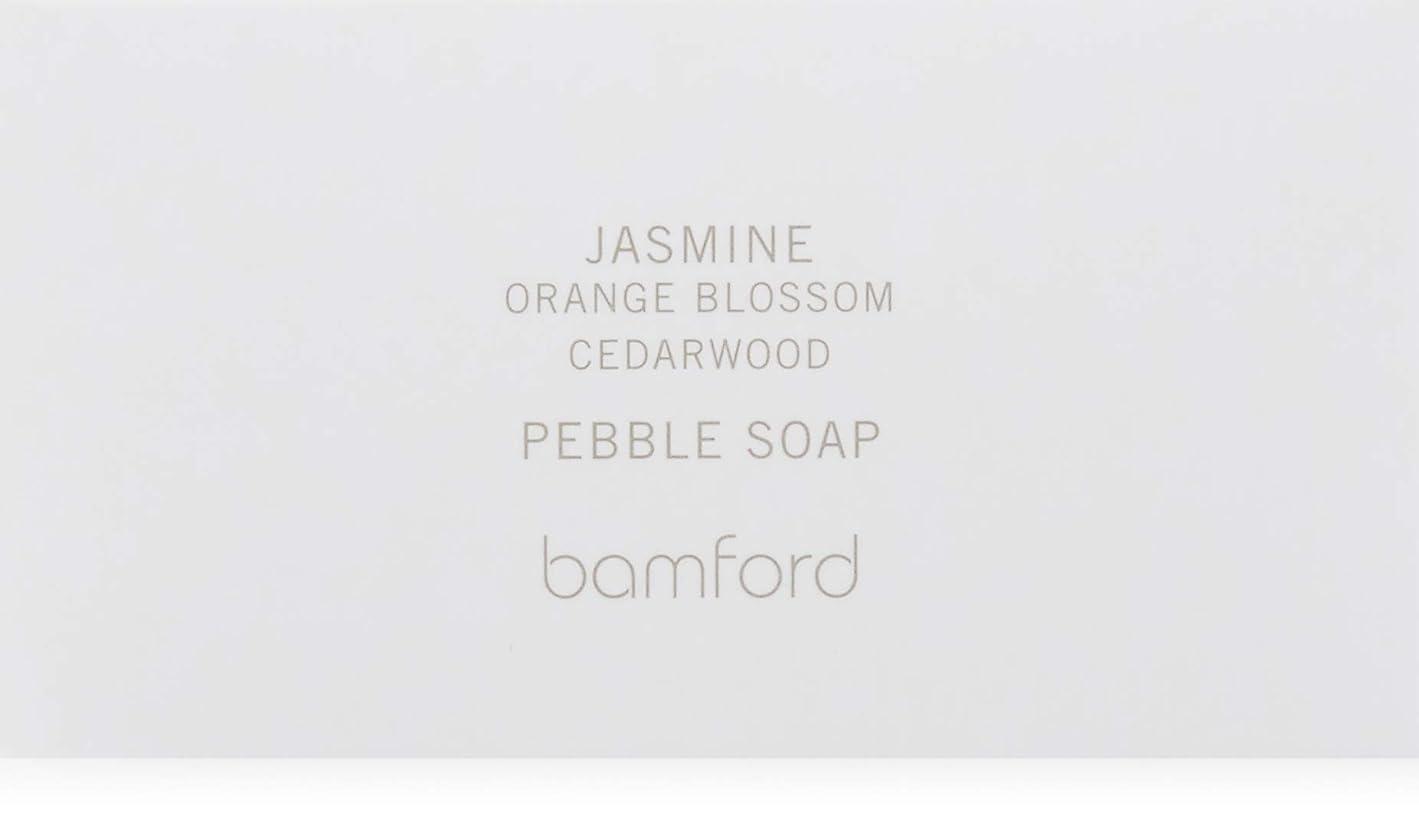 熱望する疑い計り知れないbamford(バンフォード) ジャスミンペブルソープ 250g