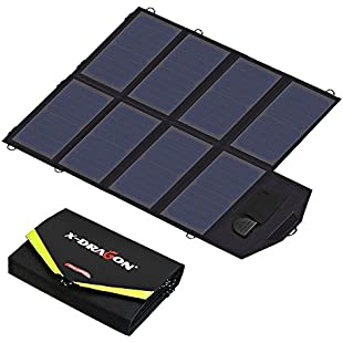 Solar Charger X-DRAGON 40W SunPower Solar Panel Charger (5V USB-18V DC) Laptop Charger for Phone, NoteBook, Laptop, Tablet, Apple, iPhone, ipad, iPod, Samsung, Android Smartphones:Animalnews