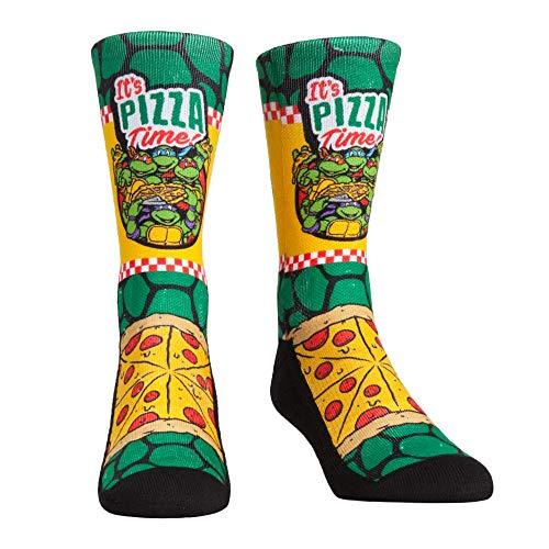 Teenage Mutant Ninja Turtles TMNT Socks (L-XL, Teenage Mutant Ninja Turtles - Pizza Time)