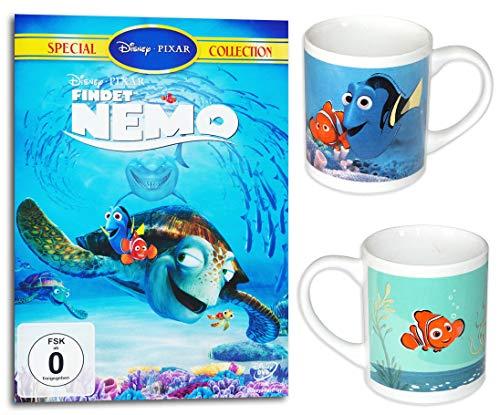 Findet Nemo DVD inkl. 2 Tassen - Findet Nemo / Findet Dori Geschenkset