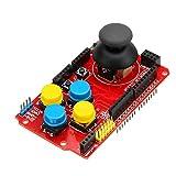 GYW-YW Tablero de Control Expansión 5pcs Shield Joystick Juego Teclado Junta analógico con función de ratón del Punto Steuermodul