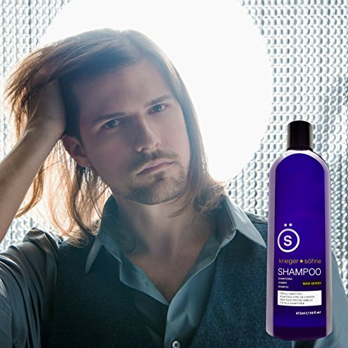K + S Salon Quality Men's Shampoo - Tea Tree Oil Infused To Eliminate Dandruff, Dry Scalp, and...