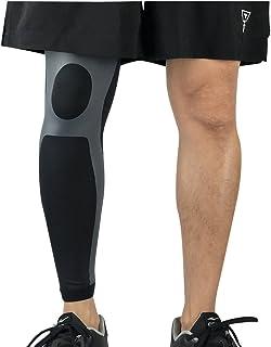comprar comparacion Qitun Calcetines de Compresion de Pierna Completa,Elástica Transpirable Como Leg Warmers/Accesorio de Ciclismo.(Envoltura ...